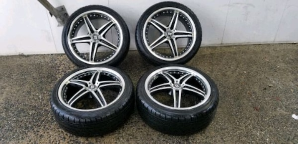 4  18in wheels rims with like new tires motegi racing 5x110    cb73dc51-a6e4-489f-8001-4b0742413f5c
