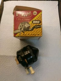 Vintage fishing reel with box
