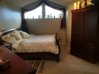 King-sized pale yellow bedspread & all extras! Delta, V4L 1E8