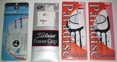 Ladies Golf Gloves Titleist Top Flite and Paradise LH RH Size Me