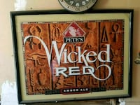 Petes Wicked Red Bar Sign