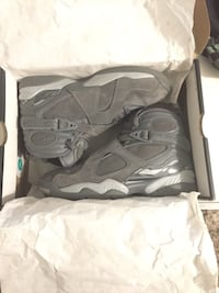 Jordan Retro 8 (Cool Greys) Toronto, M6M 1T1