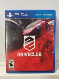PlayStation 4- Driveclub Game Downey