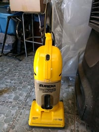 yellow and black Eureka upright vacuum cleaner Calexico, 92231