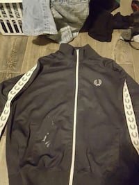 Fred perry track jacket  North Vancouver, V7M 1H5