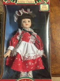 doll in red and white dress El Cajon, 92021