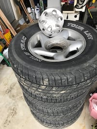 2001 Tacoma 4 wheels with tire set Mount Airy, 21771