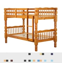 Twin over Twin Bunk Bed MARKHAM