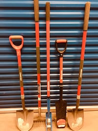 two red and blue metal tools Kelowna, V1X 5E2