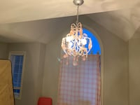 Acrylic chandelier  and stand up lamp Bradford West Gwillimbury, L3Z 0G9