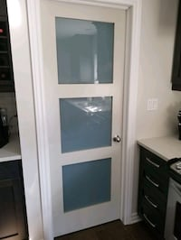 Shaker Frosted Glass Door