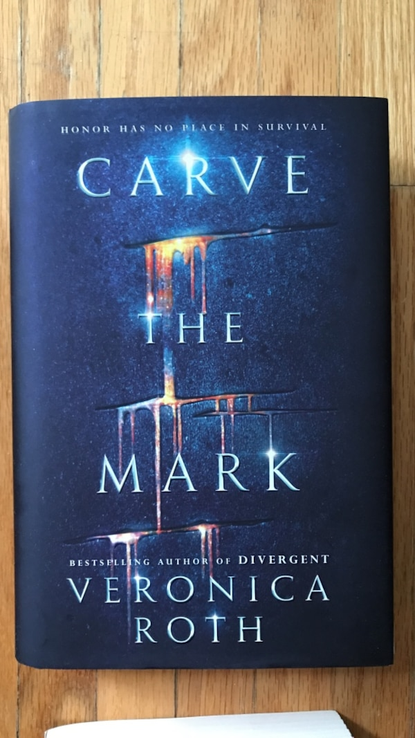 Carve The Mark by Veronica Roth book