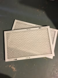 Two air filters, high performance, 3M Filtrete 36 km