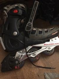 Men's rollerblades excellent wheels 503 km
