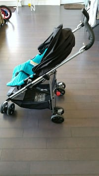 baby's black and teal stroller Mississauga, L5B