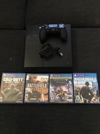 Ps4 (need gone ASAP) one controller and 4 games Toronto, M5B 2C2
