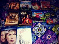 assorted dvds  Alexandria