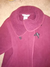pink and white Nike crew-neck shirt null