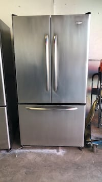 silver French-door refrigerator Oak Hills, 92344