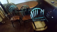 Solid oak table w/6 chairs Kansas City, 66111