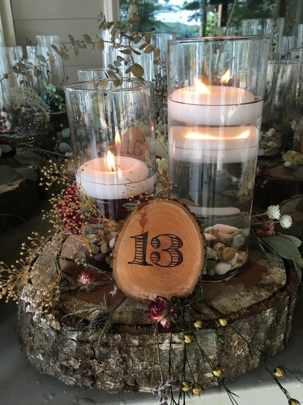 Used Boho Rustic Wedding Table Centerpieces For Sale In Buford Letgo