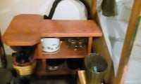 brown wooden desk with hutch Peterborough, K9J 8H9