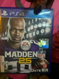 NFL Madden 25 Brand New/Never Opened PS4 Game  Vancouver, V6A 1N4
