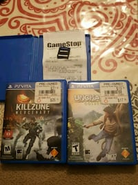 three assorted PS4 game cases Denver, 80249