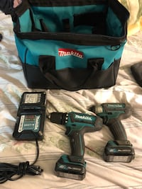 Makita cordless hand drill with charger and case 2391 mi