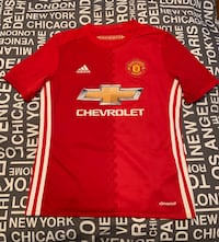 NEW Adidas Authentic MANCHESTER UNITED IBRAHIMOVIC #9 jersey sz.M Laval, H7K
