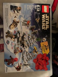 2018 Lego Star Wars advent calendar  Manassas, 20112