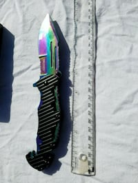 Anodized Assisted-Opening Rescue Knife Winnipeg, R2V 0N6