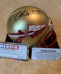 Charlie Ward autographed mini helmet  Winchester, 22601