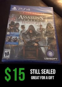 Sealed assassin's creed syndicate ps4