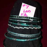 teal-and-silver-colored bangles North Ridgeville, 44039