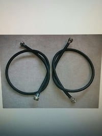 Black Rubber Washer / Dryer hoses Coquitlam, V3J 2H6