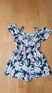 women flower romper