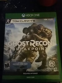 GHOST RECON BRAKEPONT  xbox one game  Toronto, M6J 0A7
