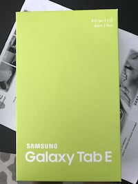 Samsung galaxy tab e BRAND NEW North Vancouver, V7G 1Z9
