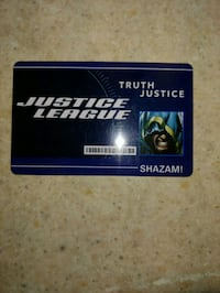 Justice League Shazam ID Card #21 Toronto, M6L 1A4