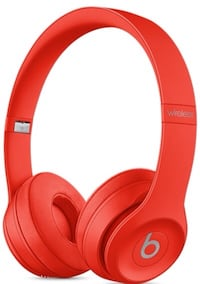 Red Beats solo 3 wireless