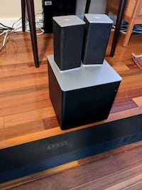 Vizio 5.1 Surround Sound Speakers and Subwoofer Alexandria, 22303