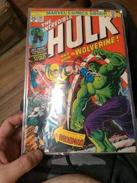 Issue 181 the incredible hulk and wolverine