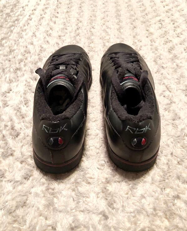 Sean Carter's (S DOTS) size 12 normal wear. Pretty good condition. A little creasing on the leather.  65ce27b9-f961-4651-a625-d0cde9ab7c42
