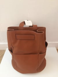 Sac en cuir marron