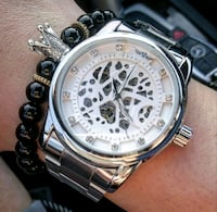 Bentley styled Chrome stainless automatic watch  Toronto, M1H 3G2