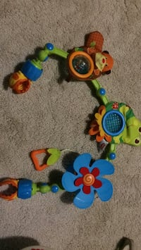 yellow and blue Fisher Price learning walker Fairfax, 22033