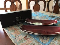 2 red metal trays. Price is negotiable.. Pewaukee, 53072