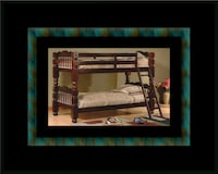 Twin wooden bunkbed frame 32 km