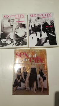 Sex in the City DVDs  $12.00 Burnaby, V5A 4A5